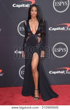 LOS ANGELES - JUL 10:  Ciara arrives to ESPY Awards 2019  on July 10, 2019 in Hollywood, CA