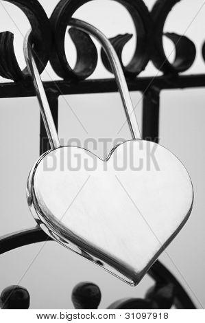 Lock for faithful love
