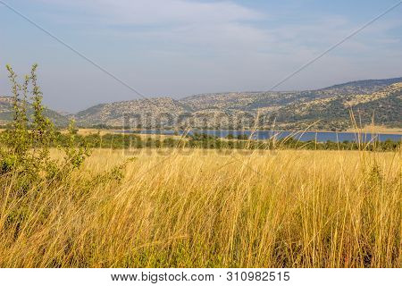 Landscape In The Pilanesberg National Park National Park
