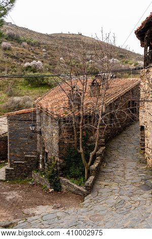 Traditional Rural Village House In Patones, Spain