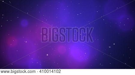 Boke Background, Delicate Purple. Blurry Color Spots