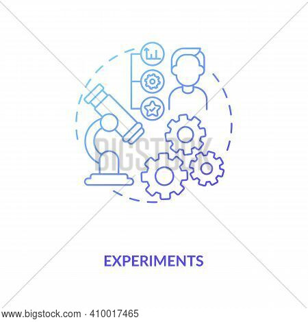Experiments Concept Icon. Research Conditions With Scientific Approaches Idea Thin Line Illustration