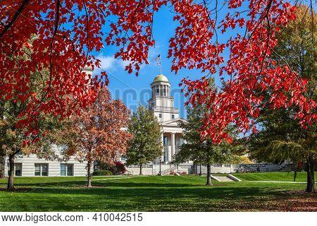 Downtown Iowa City in Autumn