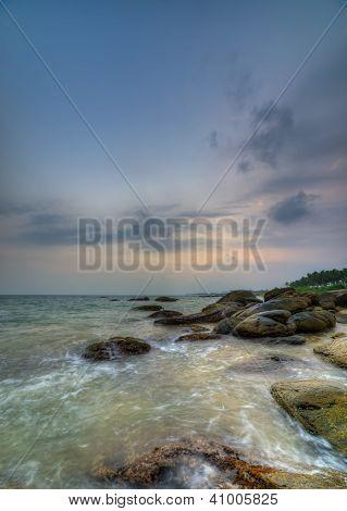 Coast Of The Indian Ocean