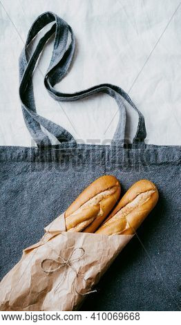 Traditional French Bread Baguette
