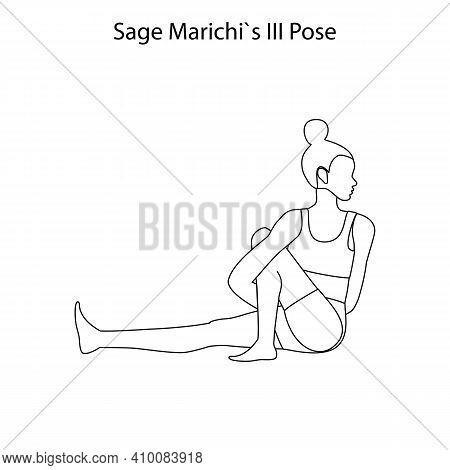 Sage Marichis Iii Pose Yoga Workout Outline