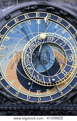 Part Of Famous Zodiacal Clock