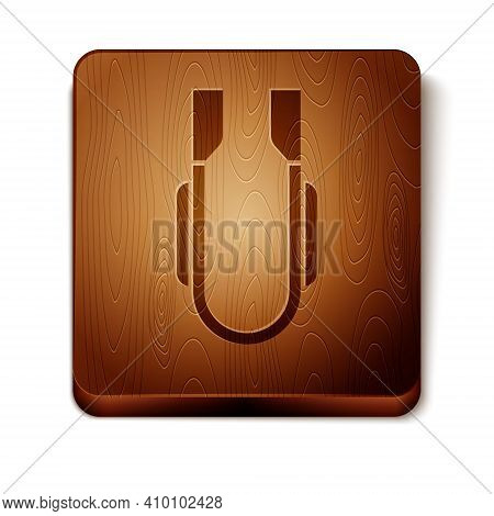 Isometric Meat Tongs Icon Isolated On White Background. Bbq Tongs Sign. Barbecue And Grill Tool. Ora
