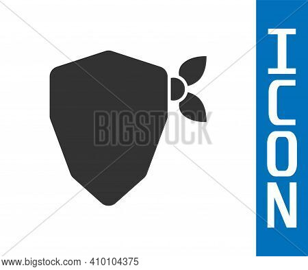 Grey Vandal Icon Isolated On White Background. Vector