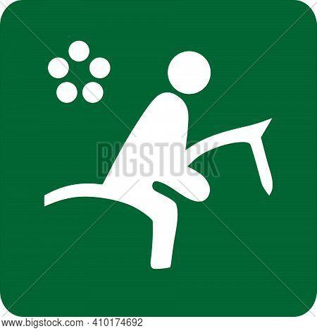 Sports Illustration Of Pentathlon Modern. Sign Of Pentathlon. Image Of Sport. Icon Of Sport. Sportiv