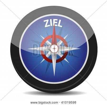 German Text 'ziel', Translate For Target