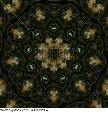 Abstract Kaleidoscope Background. Beautiful Multicolor Kaleidoscope Texture
