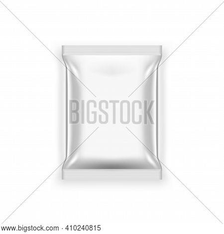 3d Blank Foil Food Snack Sachet Bag Packaging