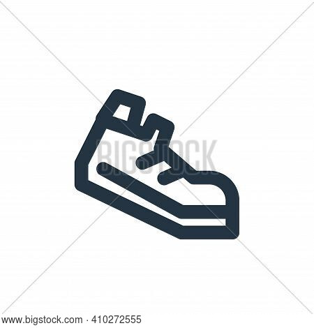 running icon isolated on white background from sport collection. running icon thin line outline line