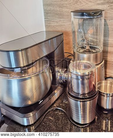 Electric Sainles Planetary Blender, Blender, Coffee Grinder