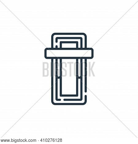 power icon isolated on white background from electrician tools and elements collection. power icon t