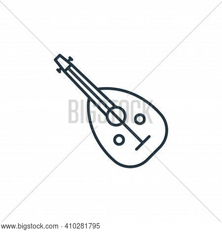 musical instrument icon isolated on white background from music instruments collection. musical inst