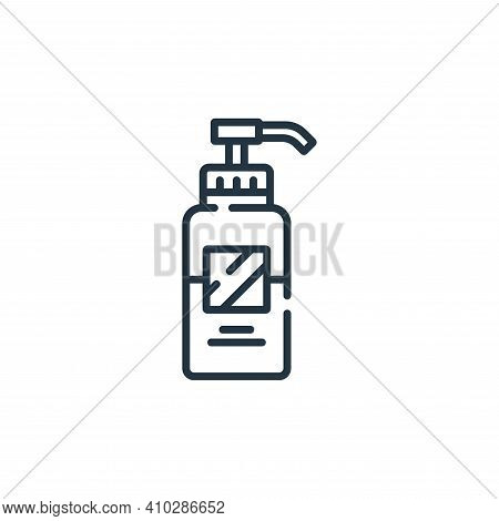 lotion icon isolated on white background from hairdressing and barber shop collection. lotion icon t