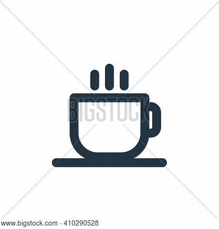 hot drink icon isolated on white background from holiday collection. hot drink icon thin line outlin