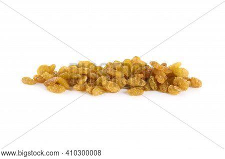 Dried Raisin Isolated On A White Raisin