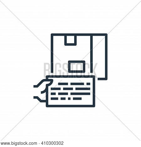 content icon isolated on white background from branding collection. content icon thin line outline l