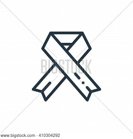 cancer icon isolated on white background from medicine collection. cancer icon thin line outline lin