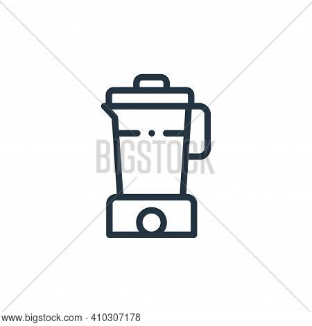 blender icon isolated on white background from electronic devices collection. blender icon thin line