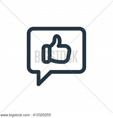 social media icon isolated on white background from web apps seo collection. social media icon thin