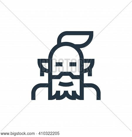 genius icon isolated on white background from fantastic characters collection. genius icon thin line
