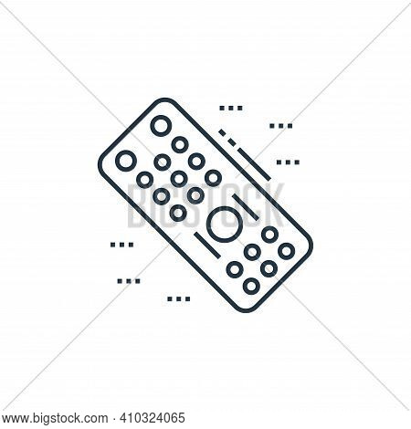 remote control icon isolated on white background from technology devices collection. remote control