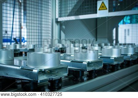 Modern Turn And Mill Machine And Multitasking Machine Produces High-precision Parts - Image