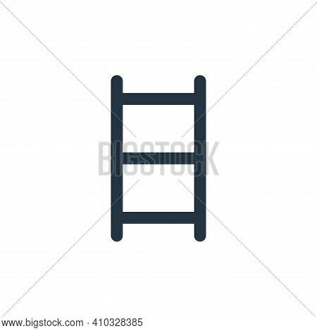 ladder icon isolated on white background from business collection. ladder icon thin line outline lin