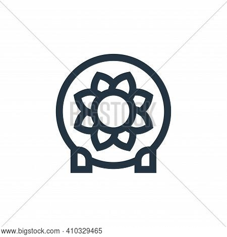 ceramics icon isolated on white background from holland collection. ceramics icon thin line outline