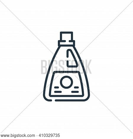 bleach icon isolated on white background from cleaning collection. bleach icon thin line outline lin