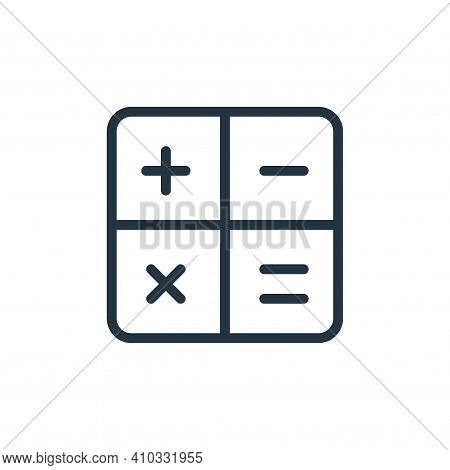 keys icon isolated on white background from work office supply collection. keys icon thin line outli