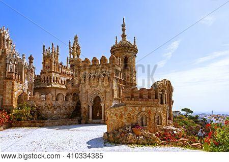 Benalmadena, Spain - May 28, 2017: Castillo De Colomares, A Castle, Dedicated To The Life And Advent
