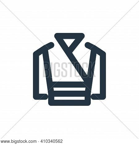 bathrobe icon isolated on white background from bathroom collection. bathrobe icon thin line outline