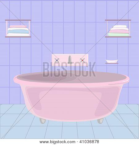 cartoom bathroom