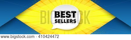 Best Sellers. Background With Offer Speech Bubble. Special Offer Price Sign. Advertising Discounts S