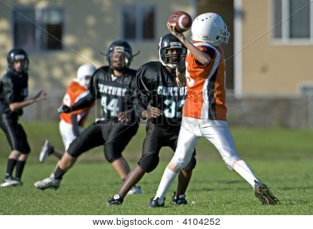 Youth Football Qb Pass