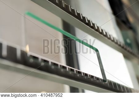 Electronic System Of Machine For Work With Glass