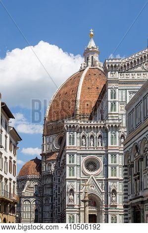 意大利-佛罗伦萨-圣母百花大教堂brunelleschi's Dome