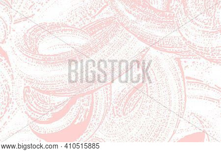 Grunge Texture. Distress Pink Rough Trace. Fascinating Background. Noise Dirty Grunge Texture. Divin