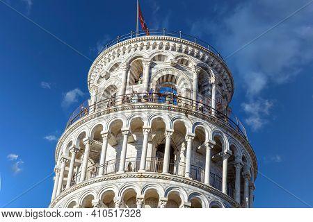意大利-比萨-比萨斜塔leaning Tower Of Pisa