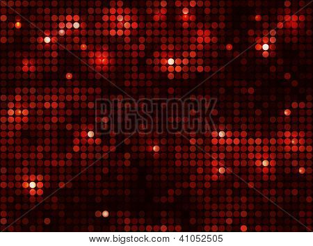 black red  vector background horizontal mosaic with light spots poster