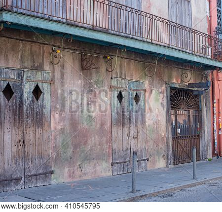 New Orleans, La - January 28: Front Of Preservation Hall In The French Quarter On January 28, 2021 I