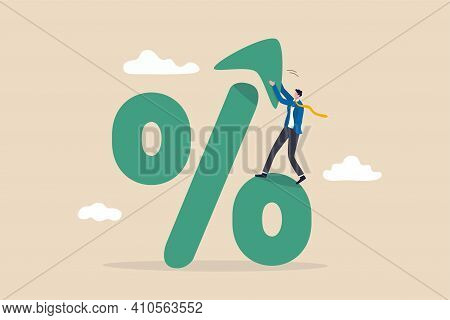 Interest Rate, Tax Or Vat Increase, Loan And Mortgage Rate Upward Trend, Investment Profit Or Divide