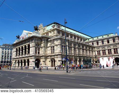 Vienna, Austria - 11 Jun 2011: The Opera House In Vienna, Austria