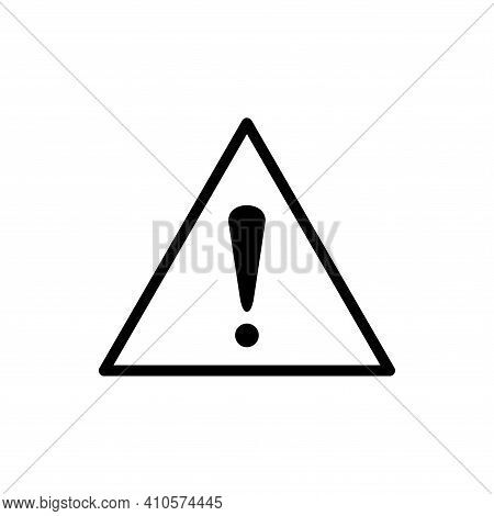Warning Attention Sign. Danger Sign Design. Caution Error Icon. Attention Sign, Warning Caution Boar
