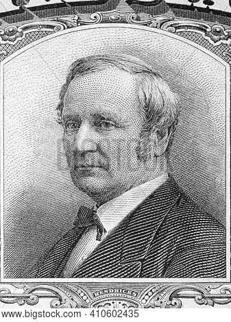 Thomas A. Hendricks A Portrait From Old American Money
